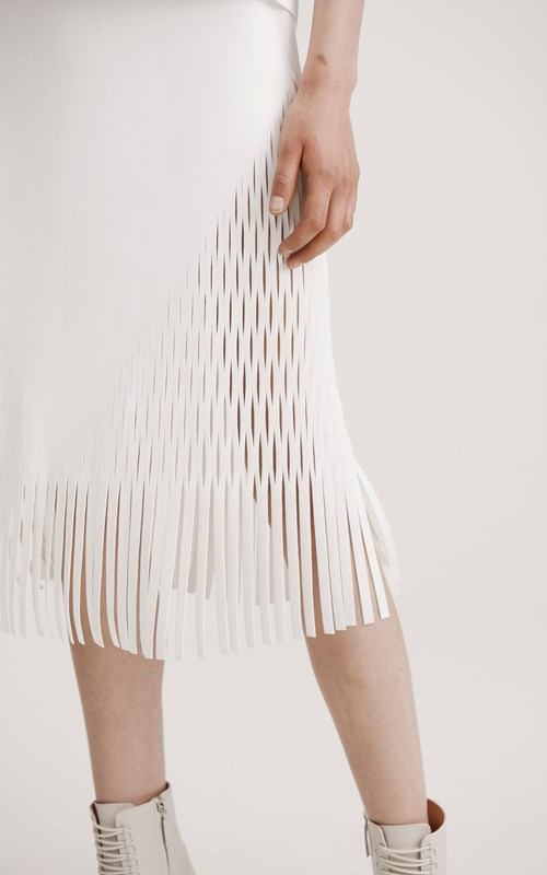 Skirts | TRIANGLE PERF SKIRT