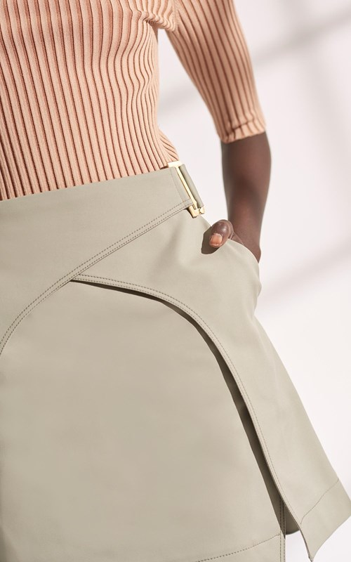 Skirts | BINARY TRENCH SKIRT