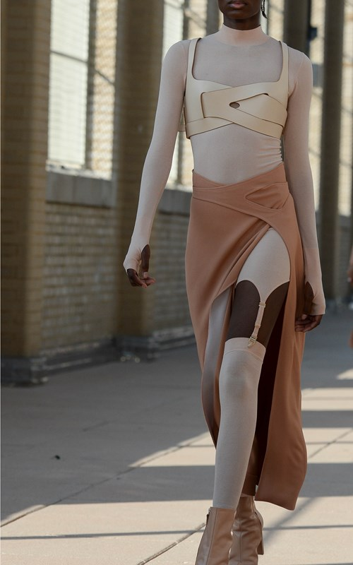 Skirts | INTERLOCK SKIRT