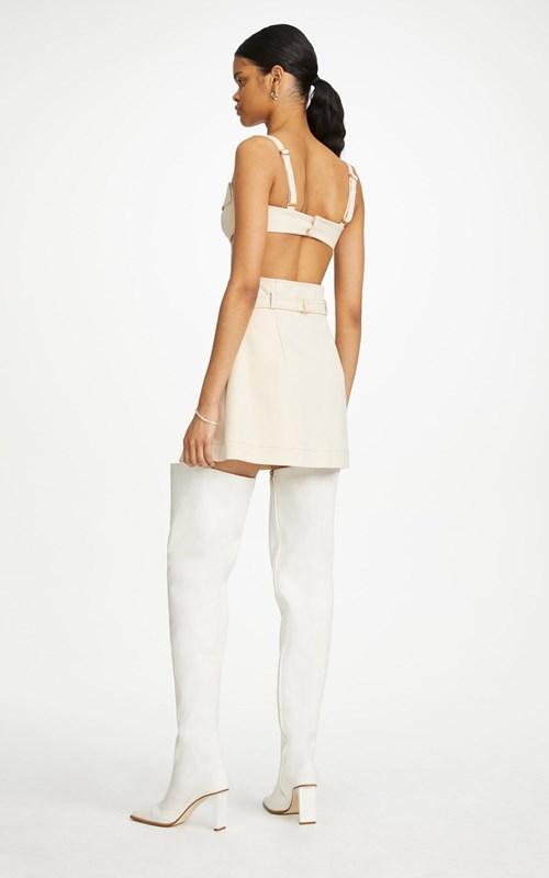 Skirts   POCKET INTERLOCK MINI SKIRT