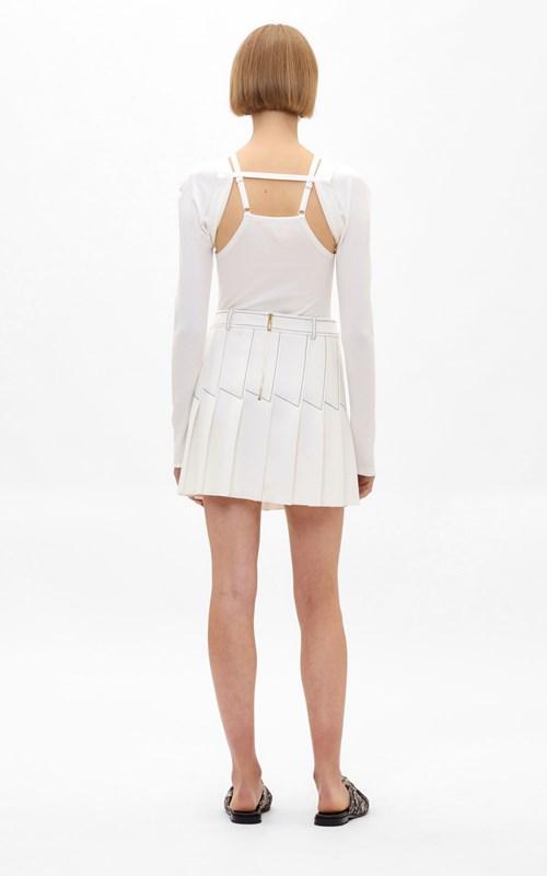 Skirts | COLUMN PLEAT MINI SKIRT
