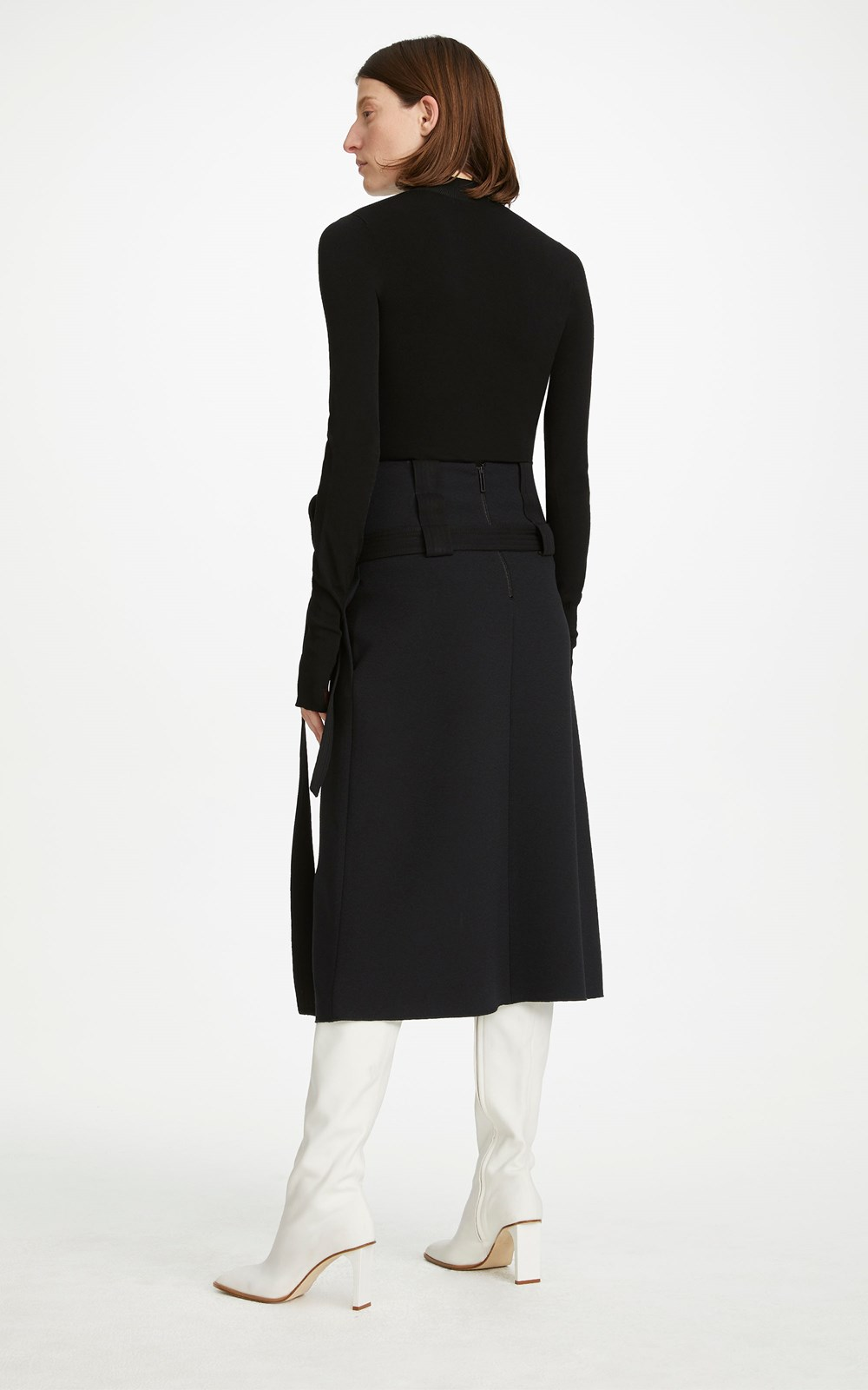 Skirts  | INTERCHANGE BELTED SKIRT