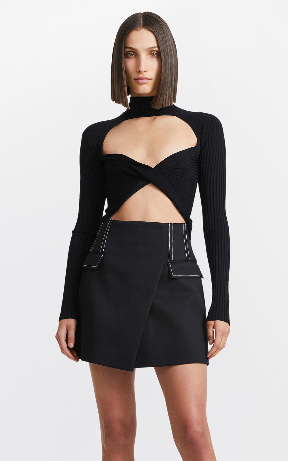 Skirts   FRAME MINI SKIRT