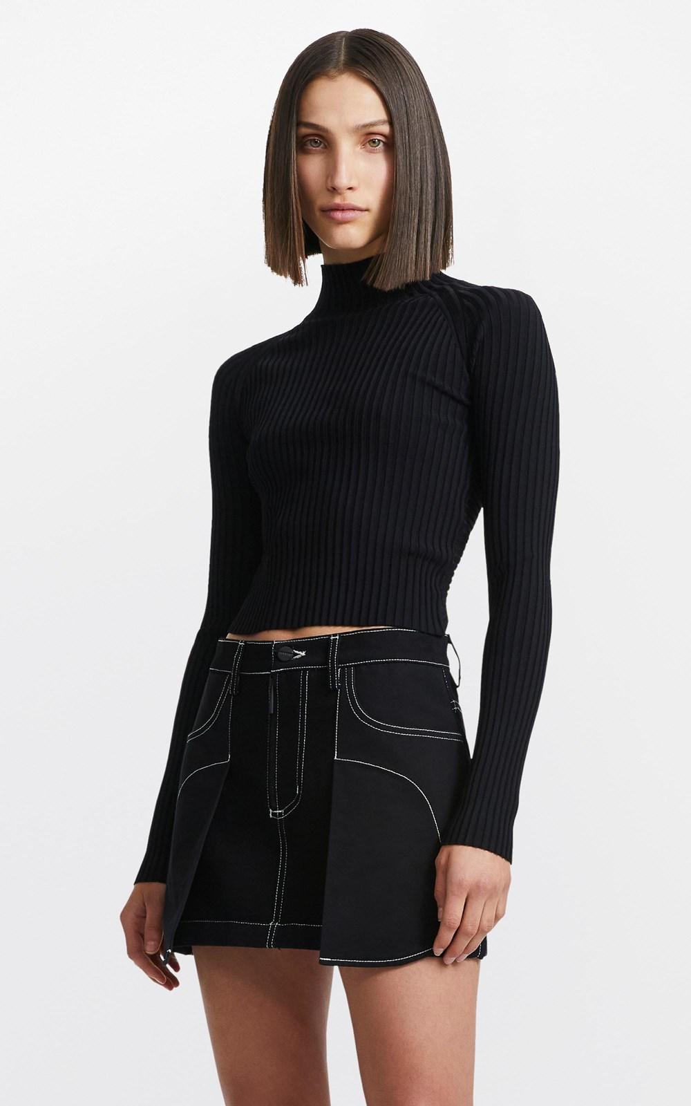Skirts   INVERSE MINI SKIRT