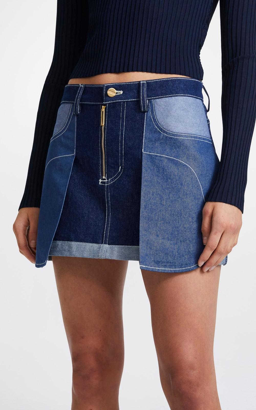 Skirts | INVERSE MINI SKIRT