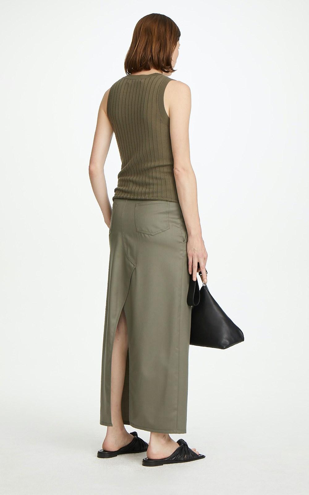 Skirts | WOOL JEAN SKIRT