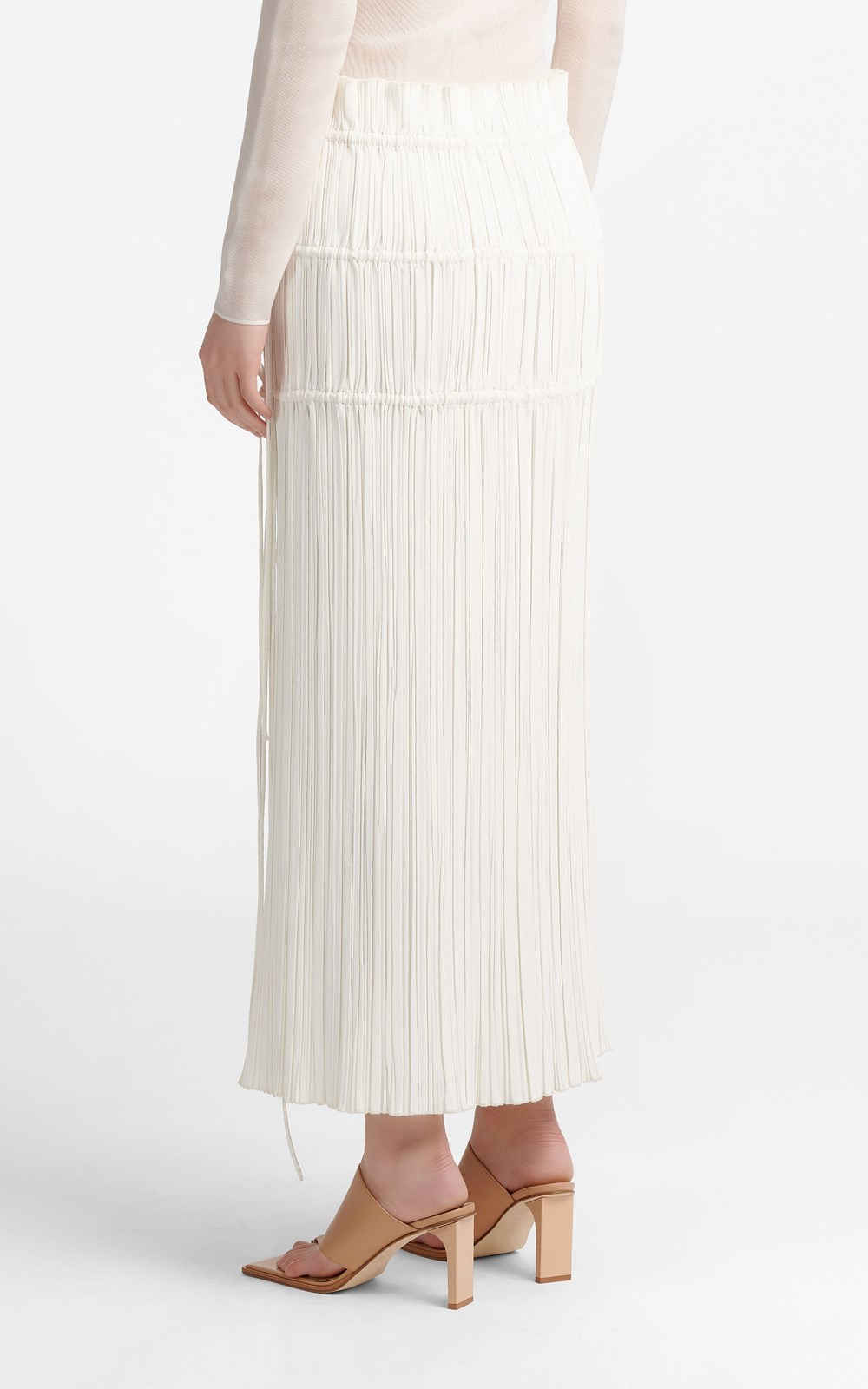 Skirts | CHANNEL PLEAT SKIRT