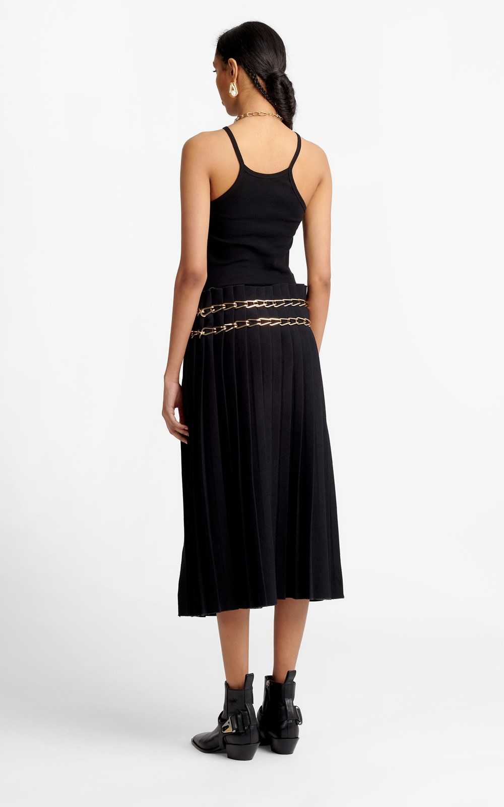 Skirts | CHAIN PLEAT SKIRT