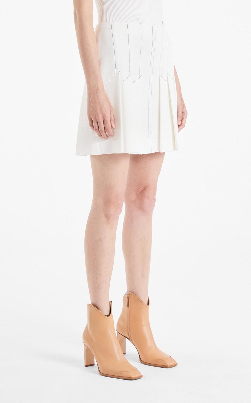 Skirts   CORSET PLEAT SKIRT