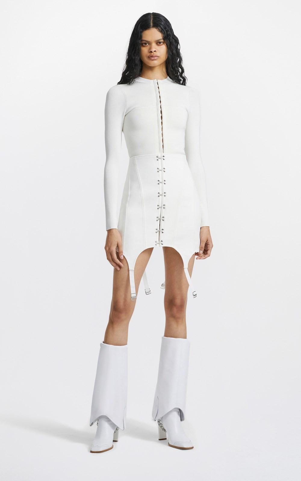 Skirts | CORSET GARTER SKIRT