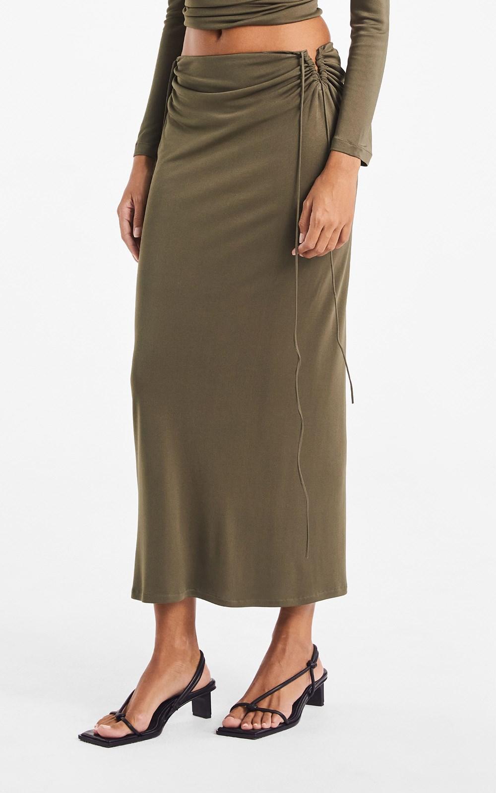 Skirts | WIRE JERSEY SKIRT