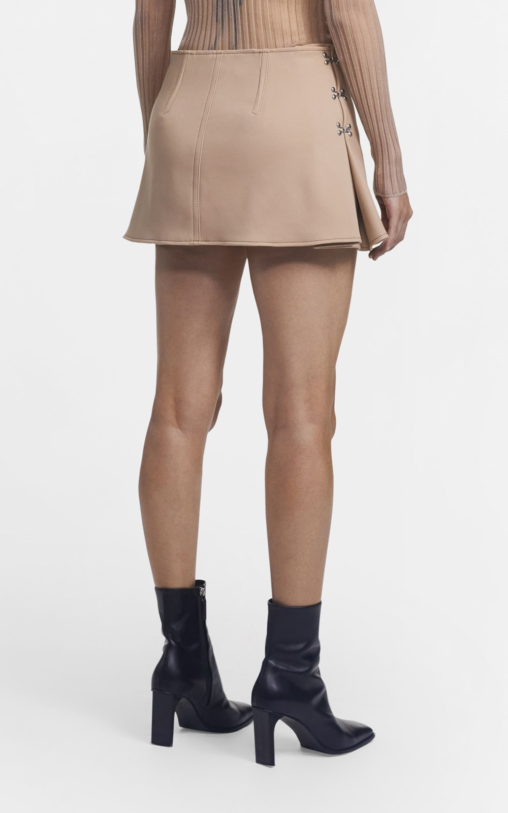 Skirts | ACCORDION PLEAT MINI SKIRT