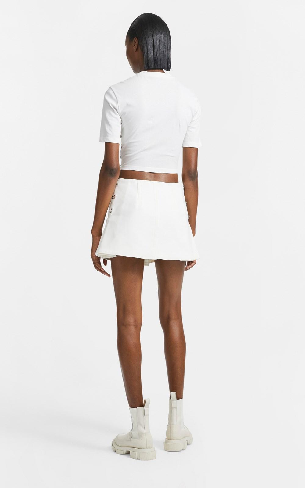 Skirts    ACCORDION PLEAT MINI SKIRT