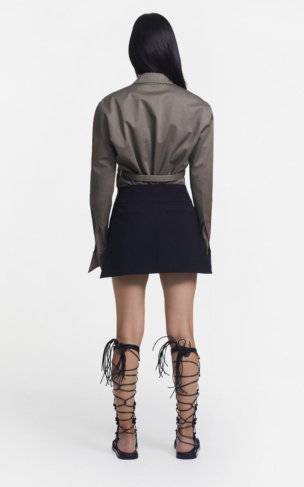 Skirts  | INTERLOCK TAILORED MINI SKIRT