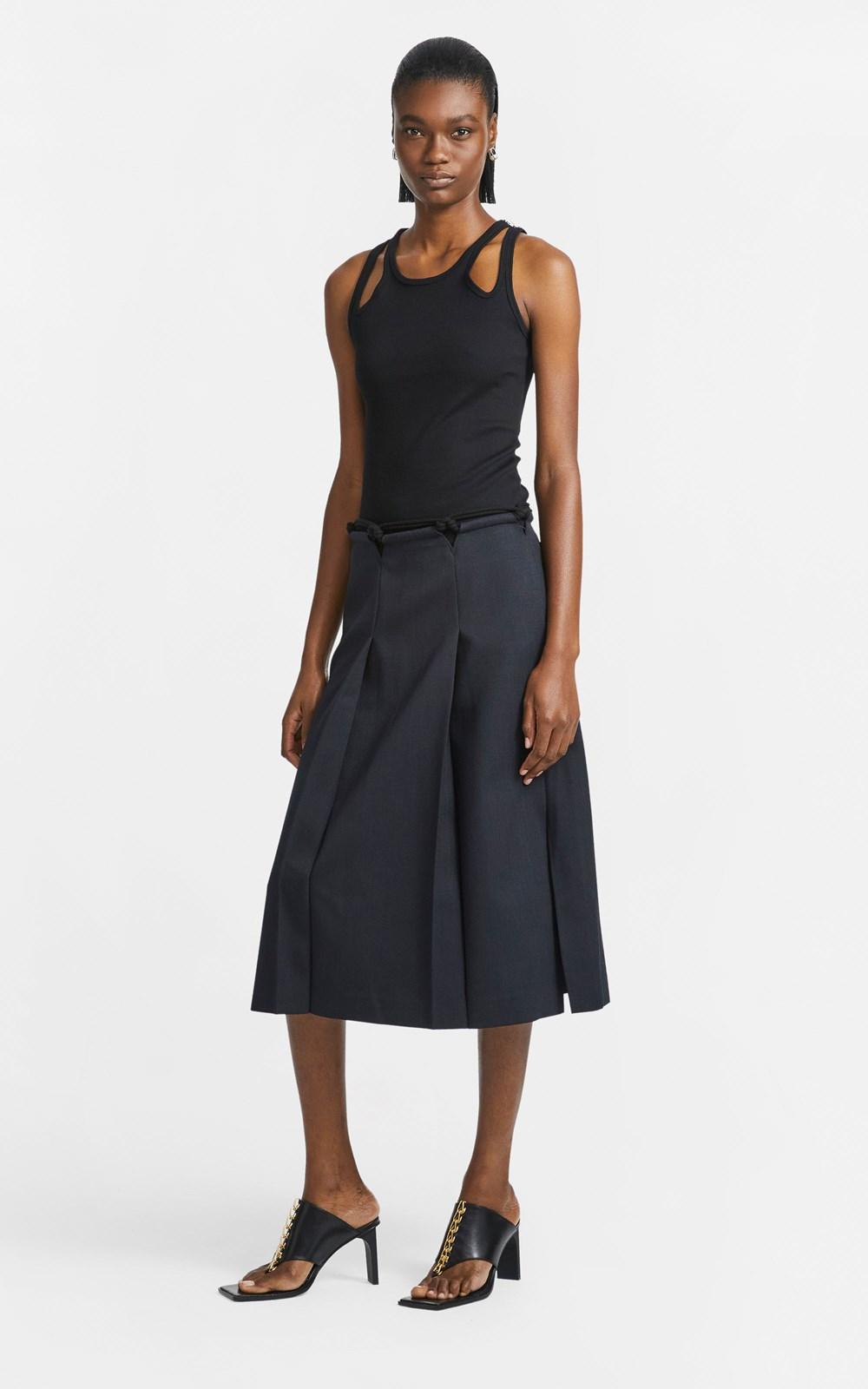 Skirts   MACRAME SPLIT SKIRT