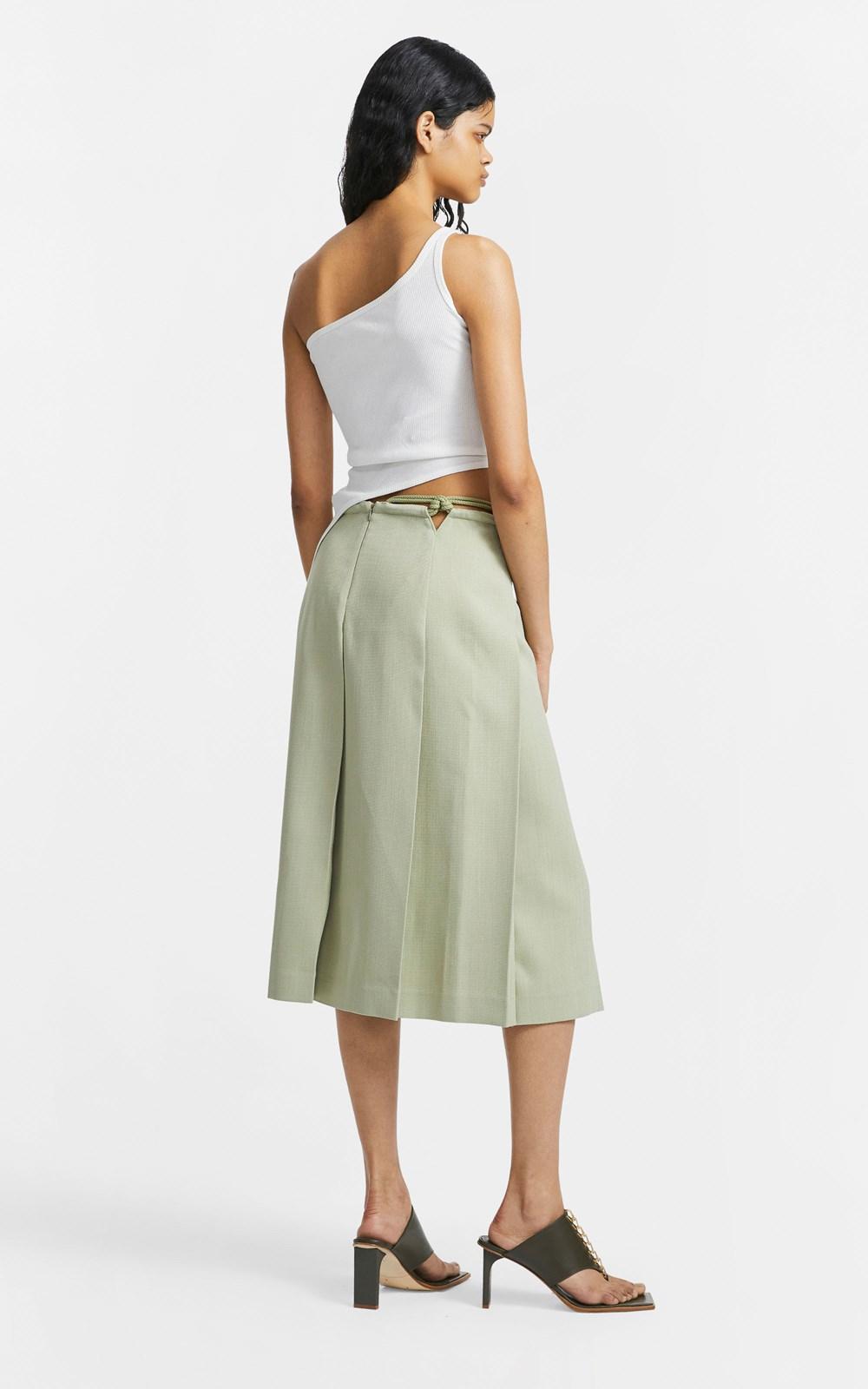 Skirts | MACRAME SPLIT SKIRT