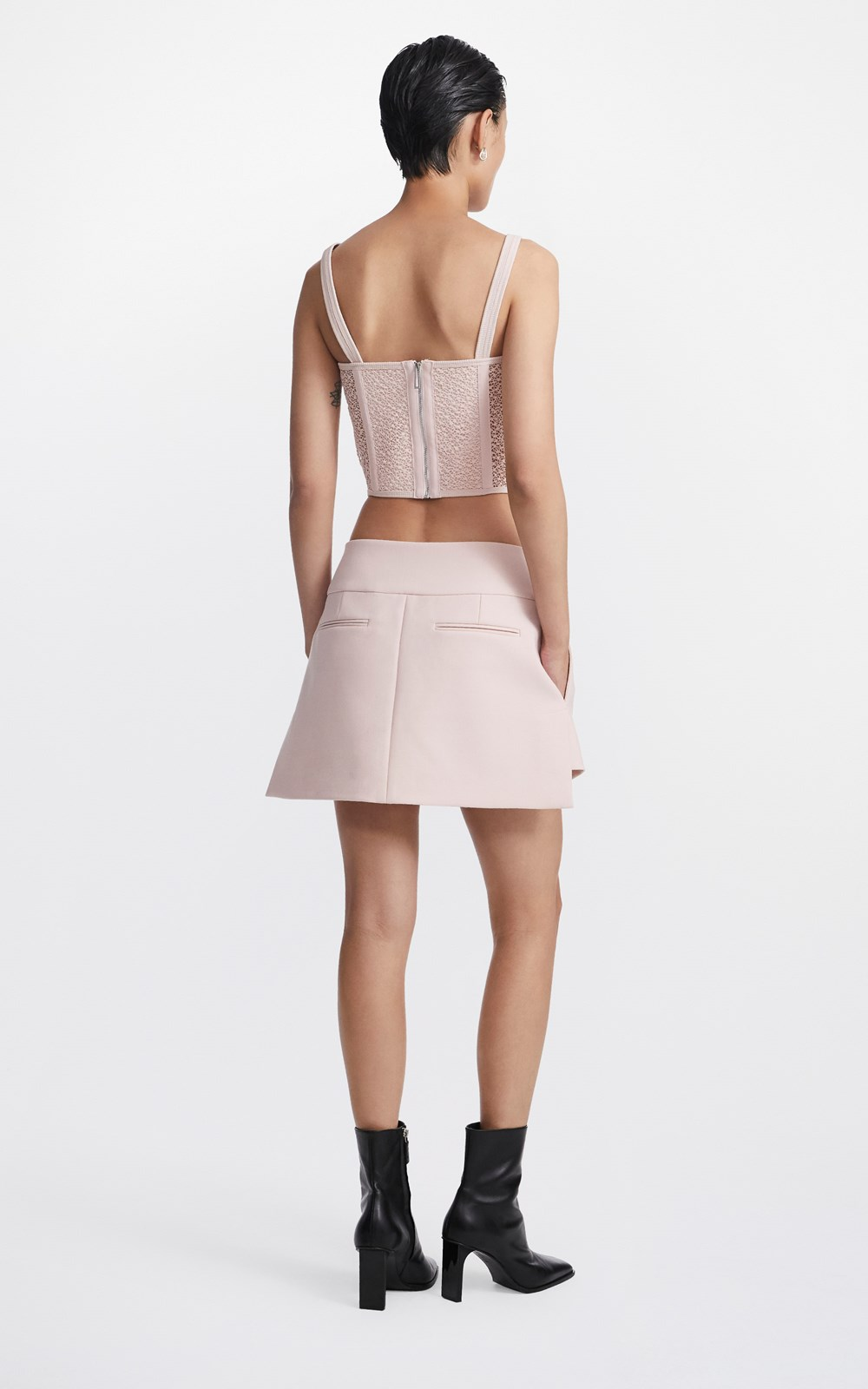 Skirts  | INTERLOCK TAILORED SKIRT