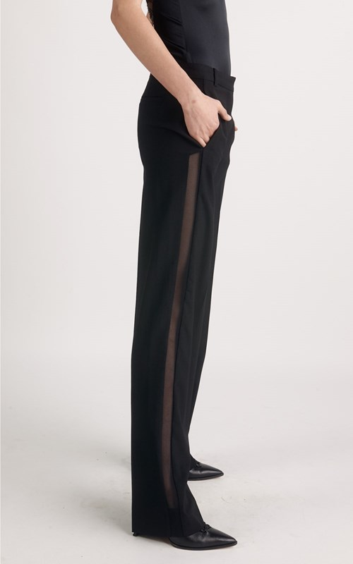 Pants | TAILORED MESH INSERT TROUSER