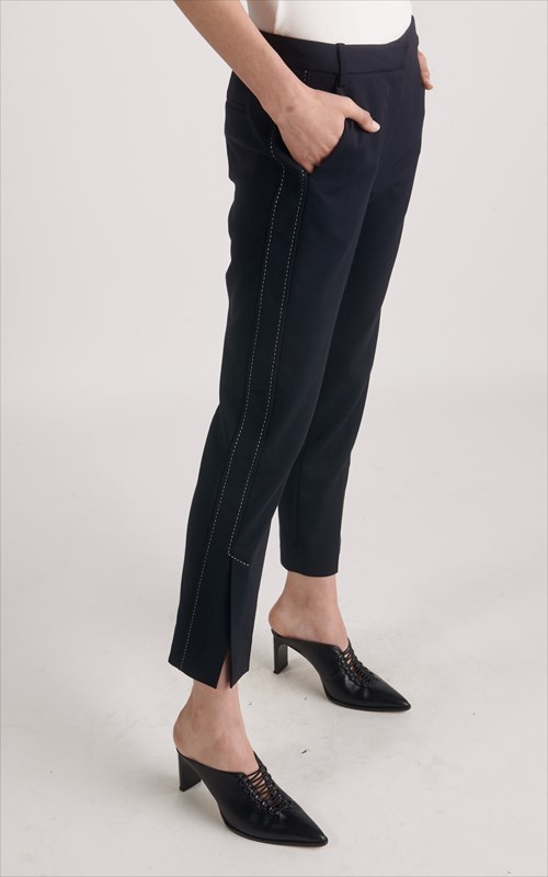 Pants | PINSTITCH VENTED TROUSER