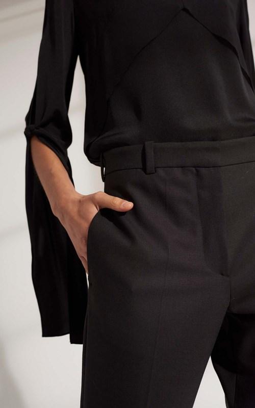 Pants  | WOOL GROSGRAIN TROUSER