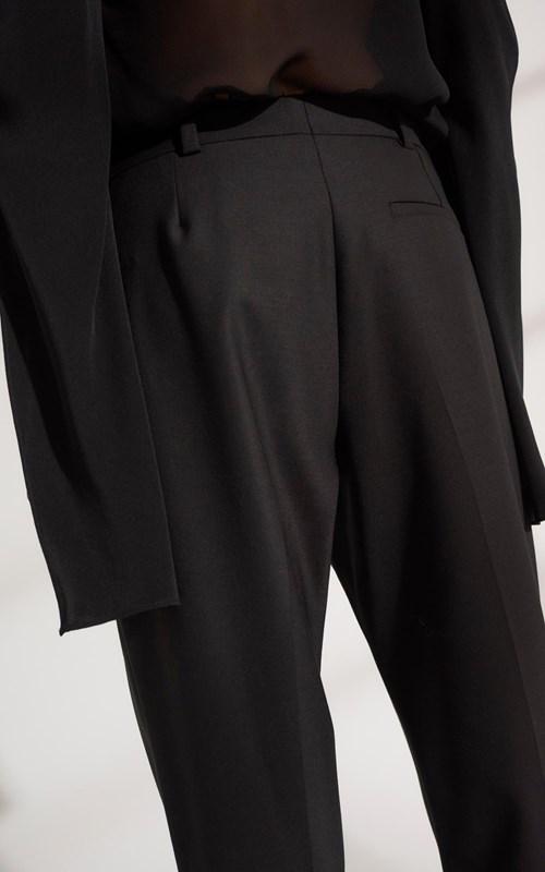Pants   WOOL GROSGRAIN TROUSER