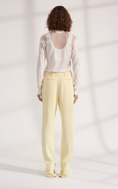 Pants | CADY VENTED TROUSER