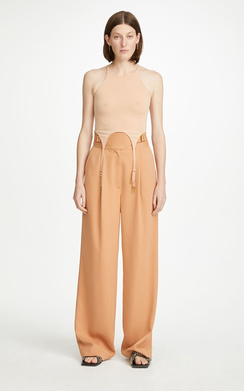 Pants | CLOTH DRAPE INTERLOCK TROUSER