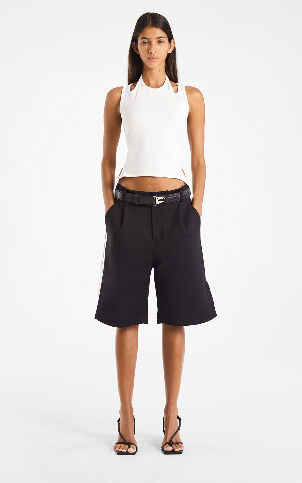 Pants | VENTED PLEAT SHORT
