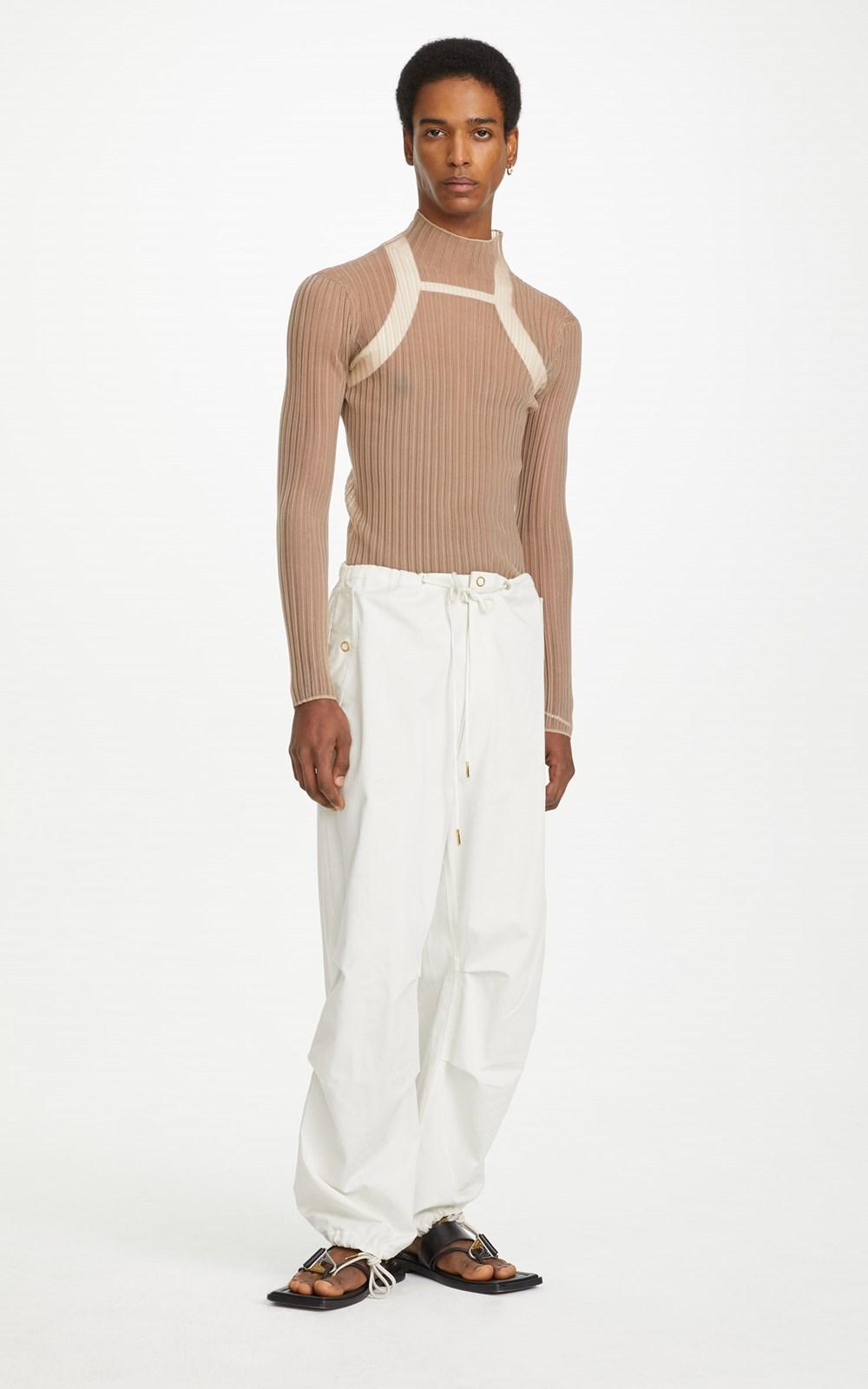 Pants   COTTON PARACHUTE PANT