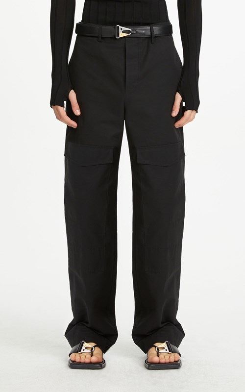 Pants | COTTON GROSGRAIN CARGO PANT