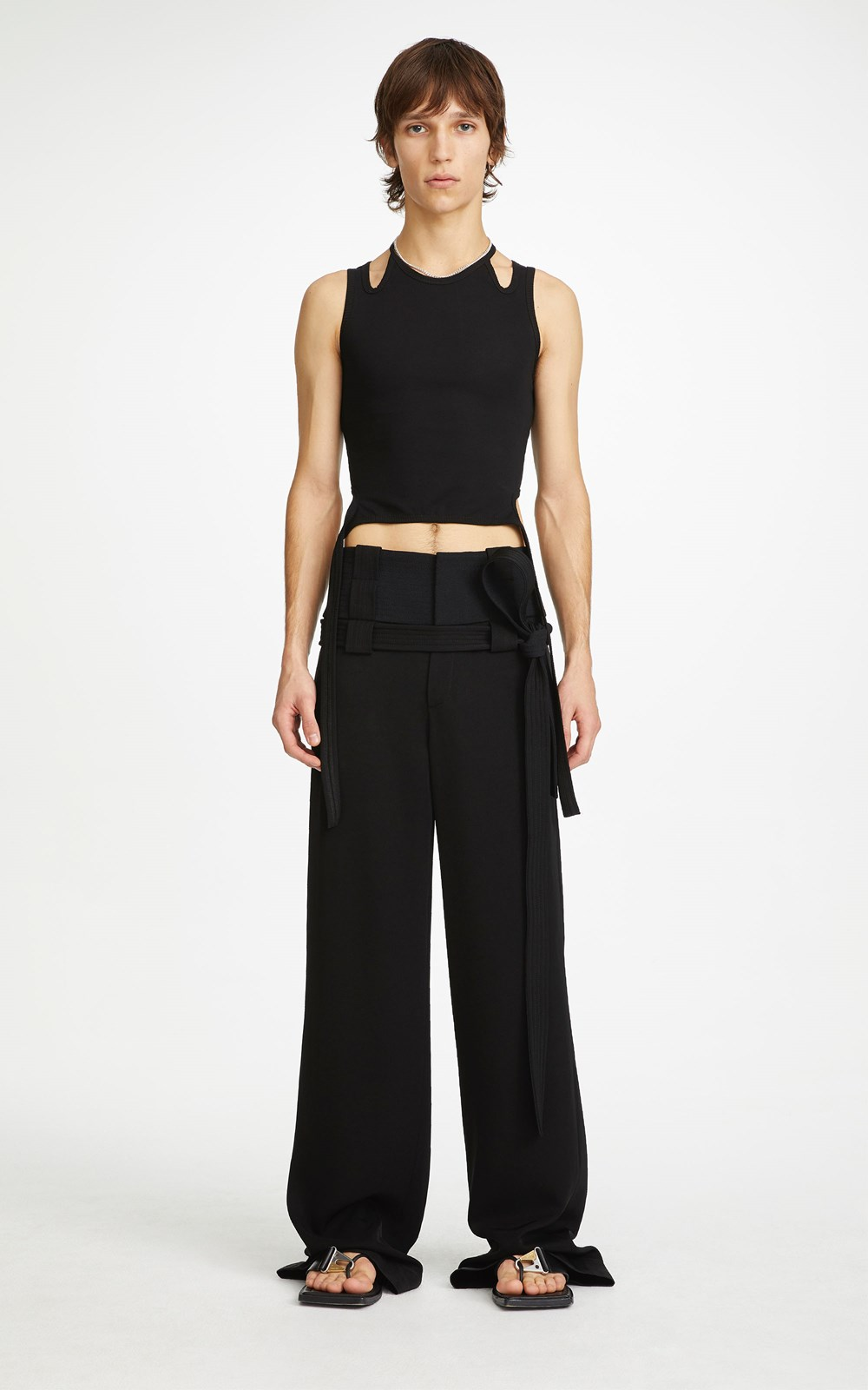 Unisex | INTERCHANGE BELTED PANT