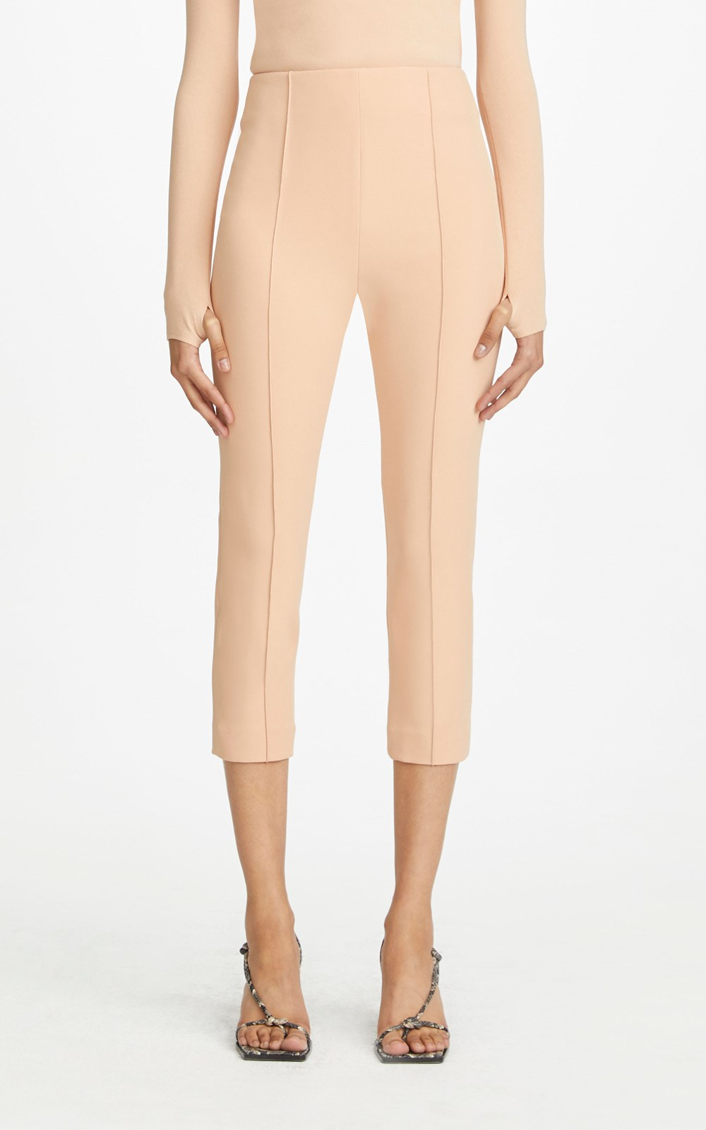 Pants | COMPACT STRETCH TUXEDO TROUSER