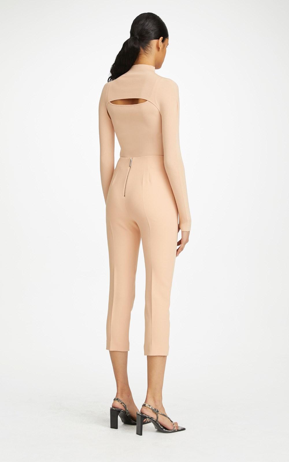 Pants | COMPACT STRETCH TUXEDO TROUSER