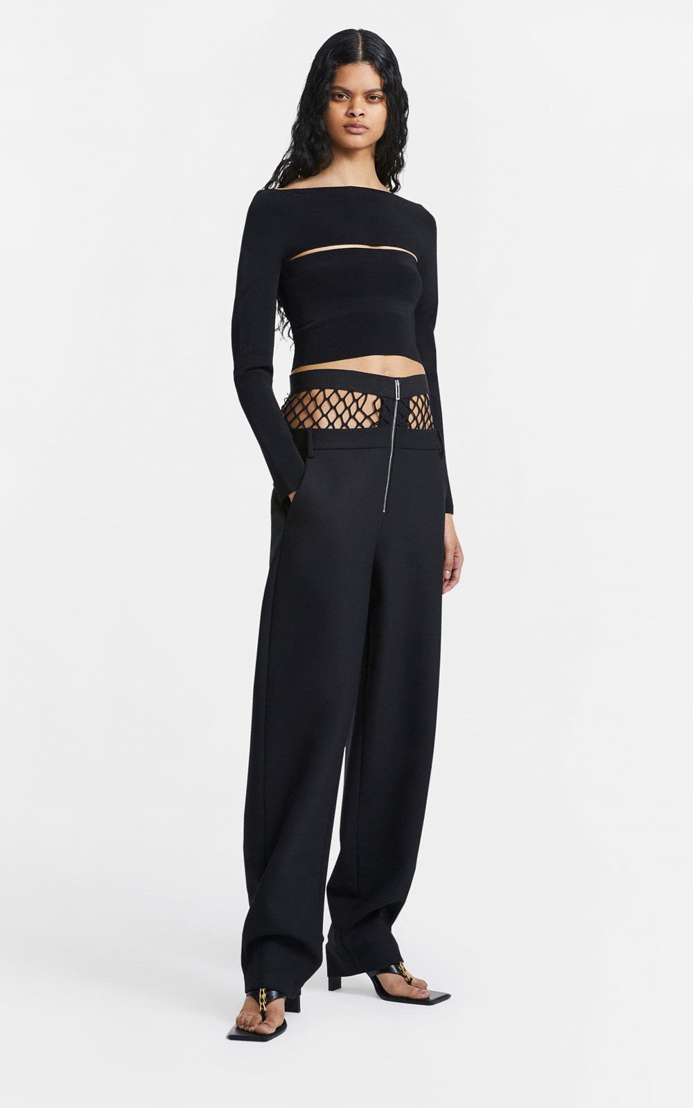 Pants | FISHNET TAILORED PANT