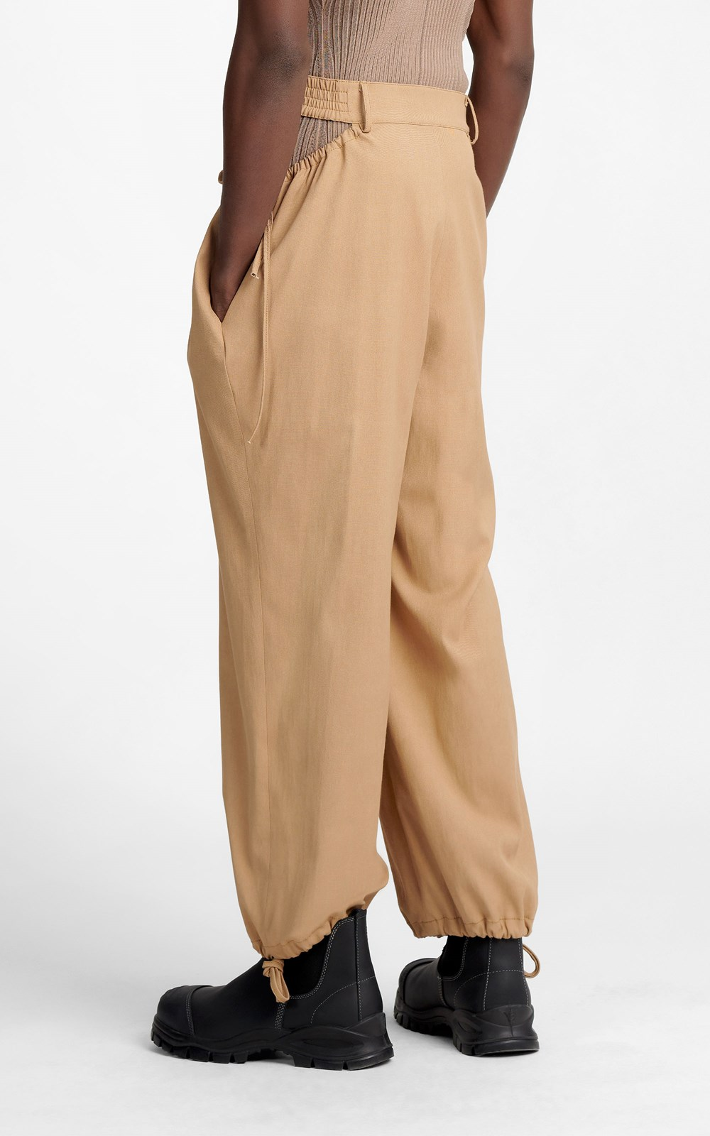 Pants | GATHERED TIE PANT