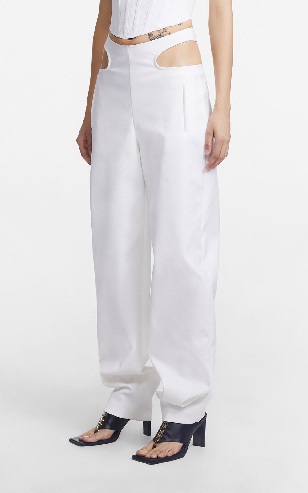 Pants | Y FRONT TIE PANT