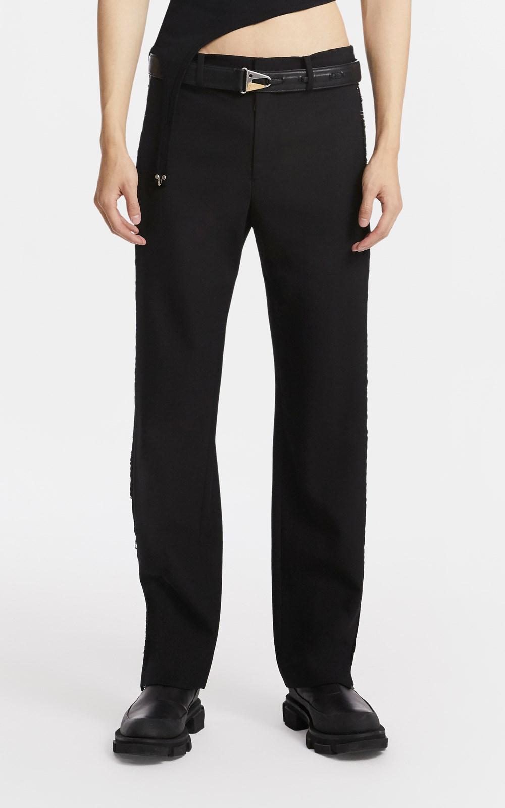 Pants | FRINGE WOOL JEAN