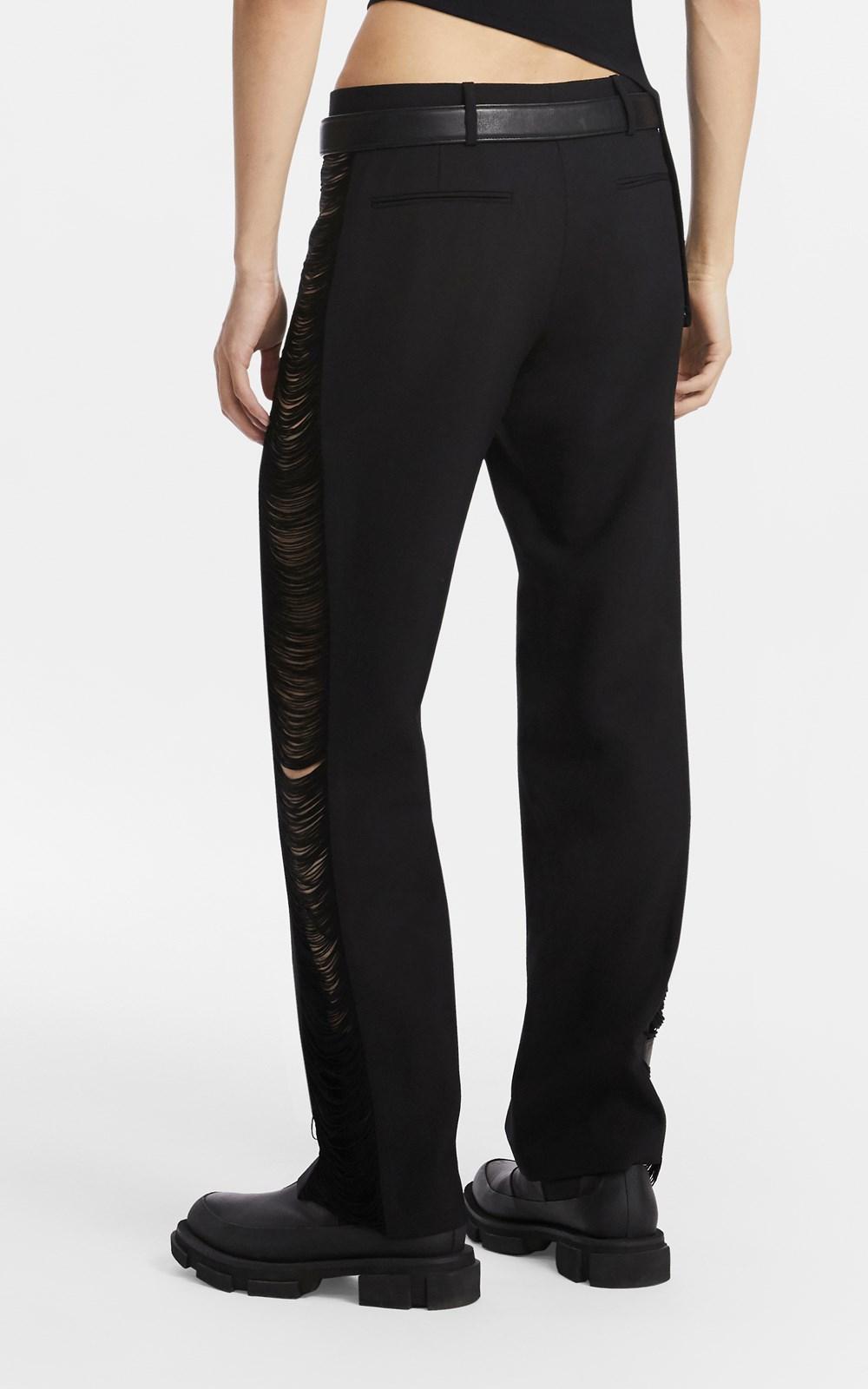 Pants   FRINGE WOOL JEAN