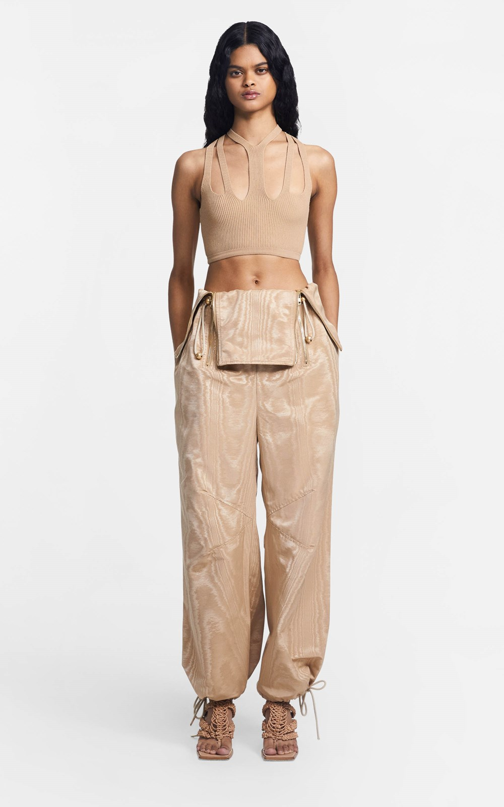 New  | ZIP BALLOON PANT