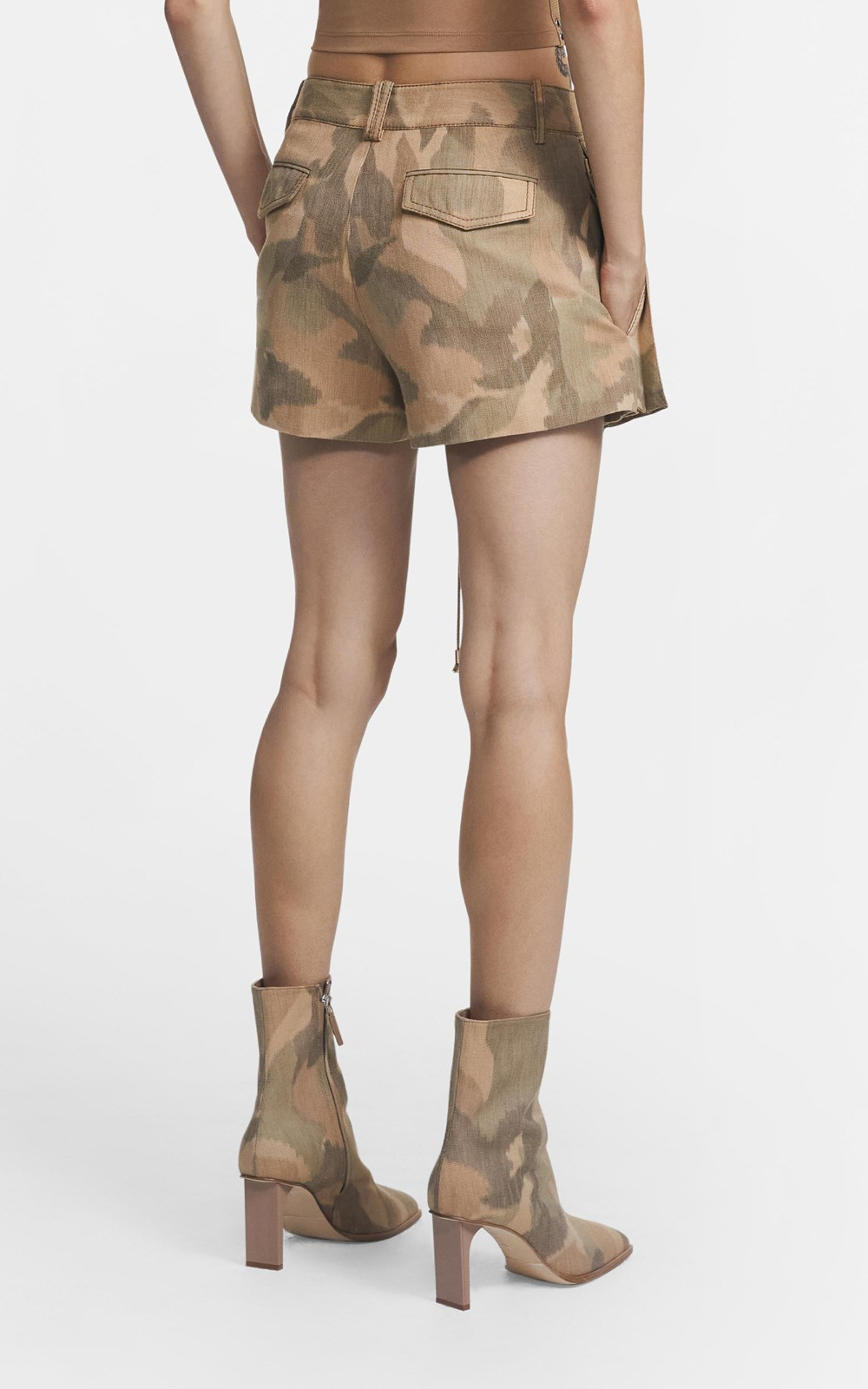 Pants | IKAT CAMO POCKET SHORT