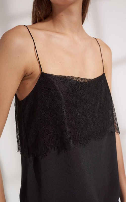 Tops | FLOAT LACE CAMI