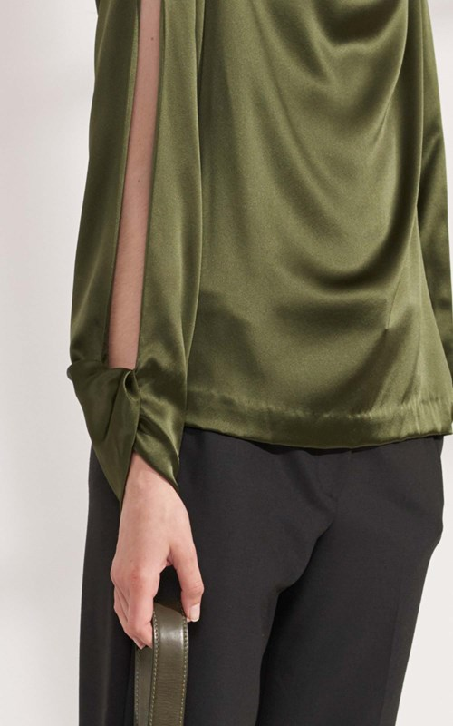 Tops | CARPAL TWIST LONG SLEEVE TOP