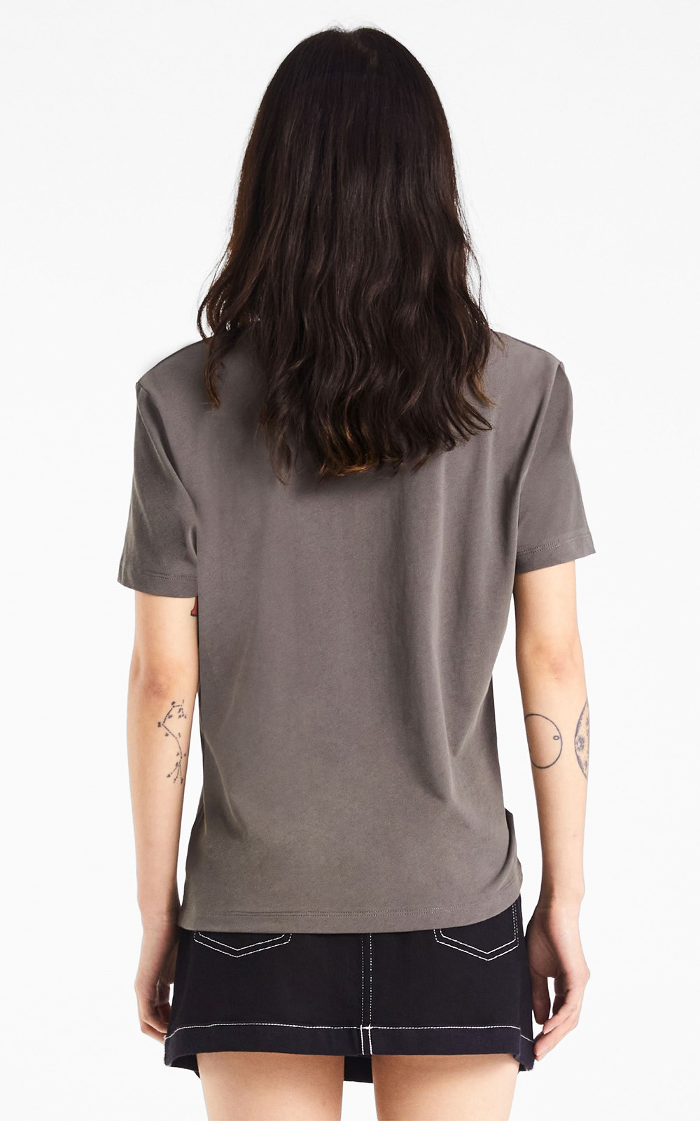 Tops | EMBROIDERED LOGO TEE