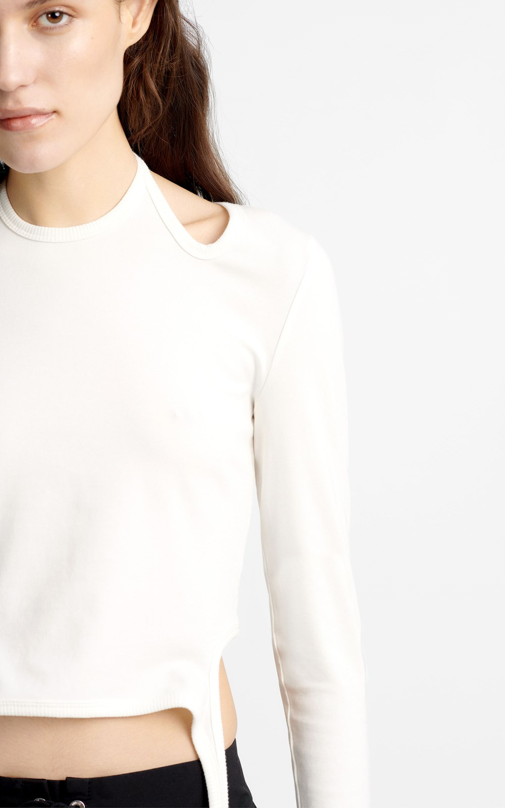 Tops | DOUBLE TIE JERSEY LONGSLEEVE TOP