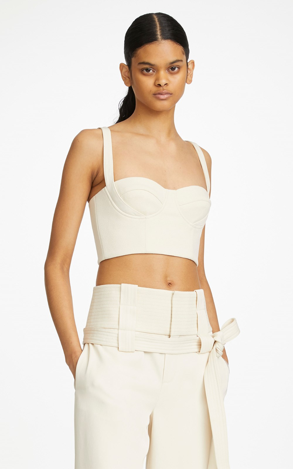Tops | BELTED STRAP BUSTIER