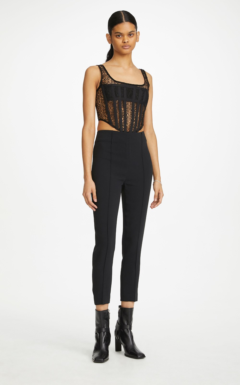 Tops | CORDED LACE CORSET