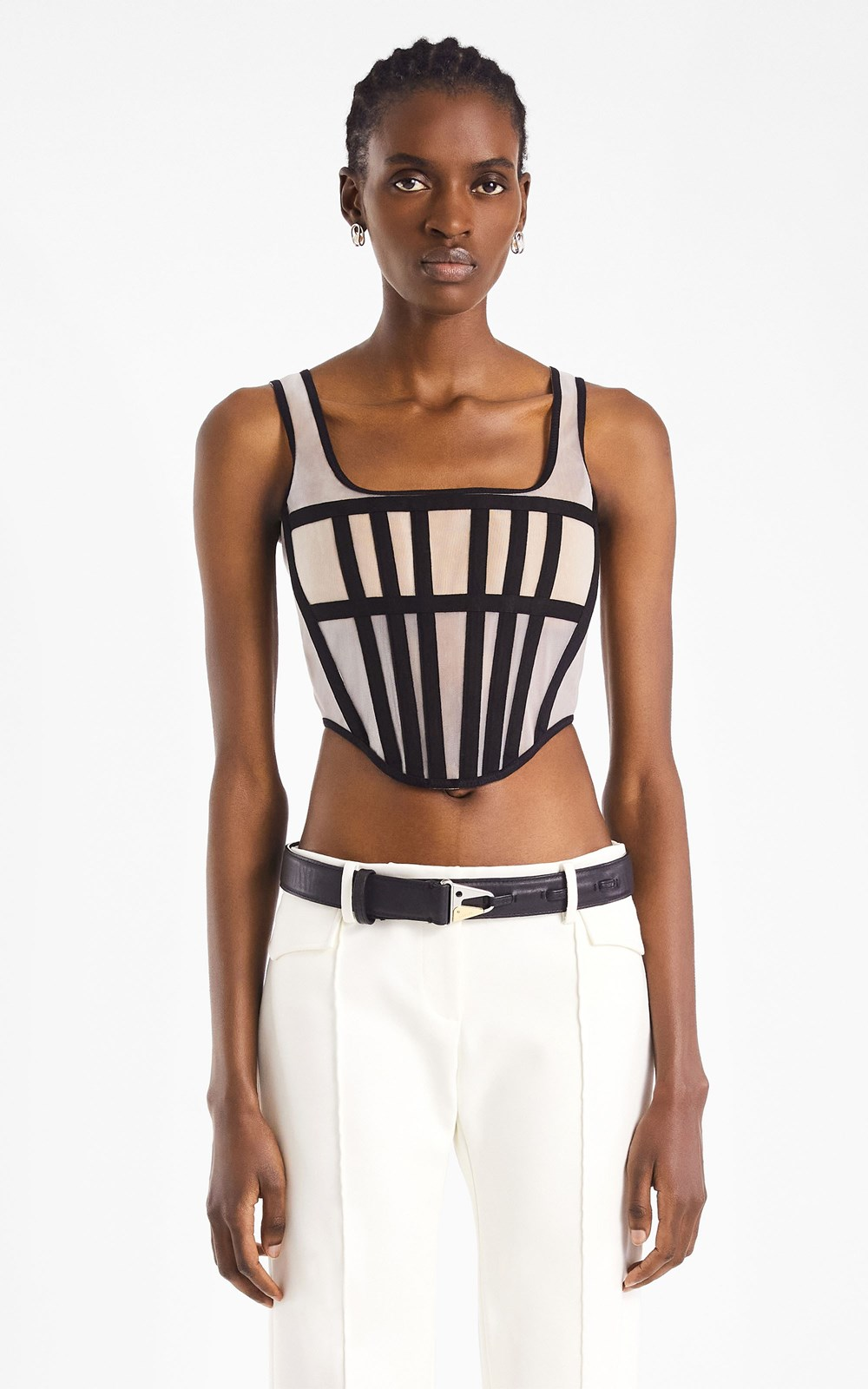 New  | SPACER KNIT CORSET