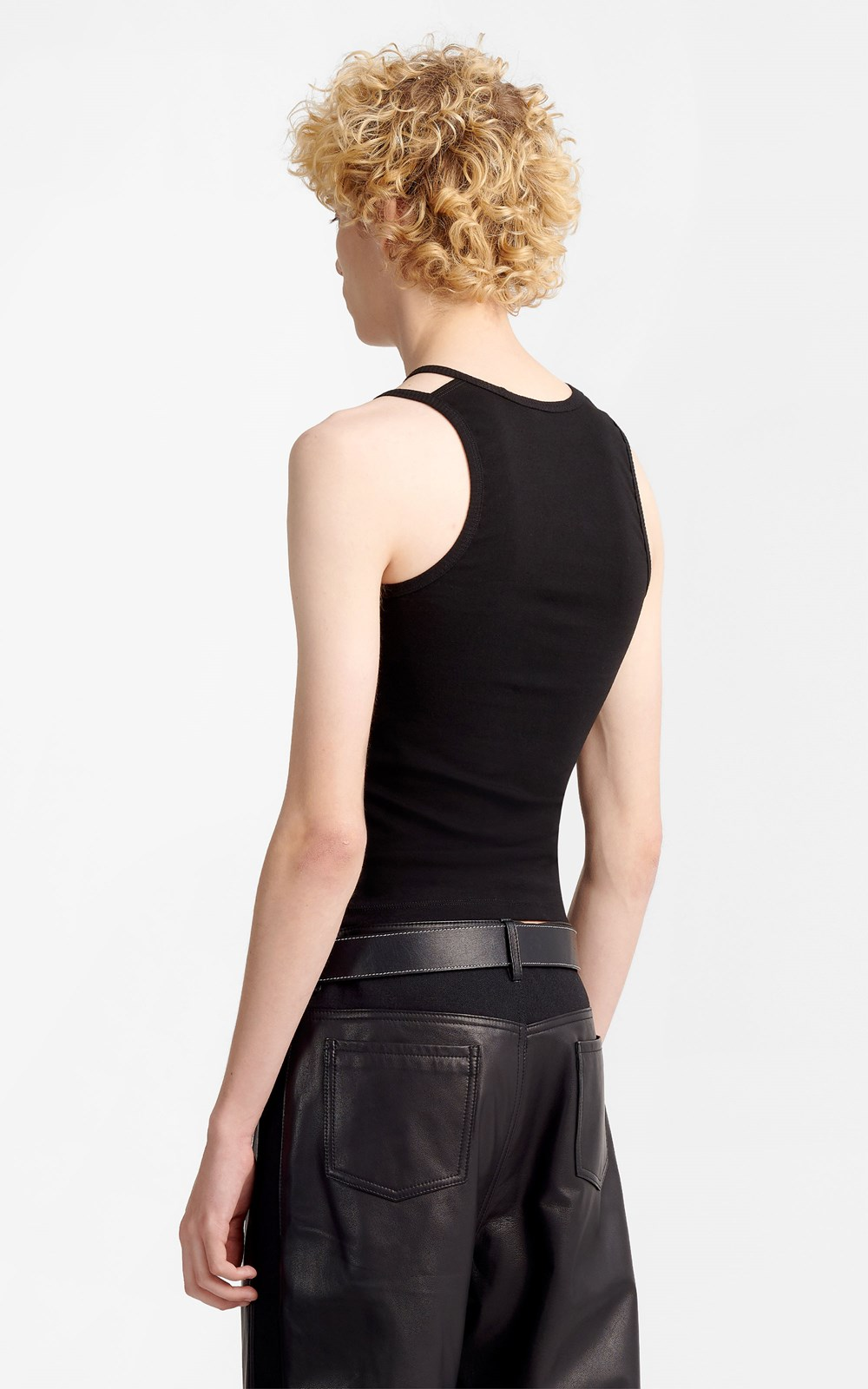 Tops   DOUBLE STRAP TANK