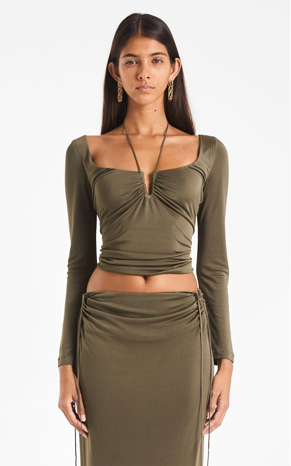 Tops | SILK JERSEY WIRE TOP