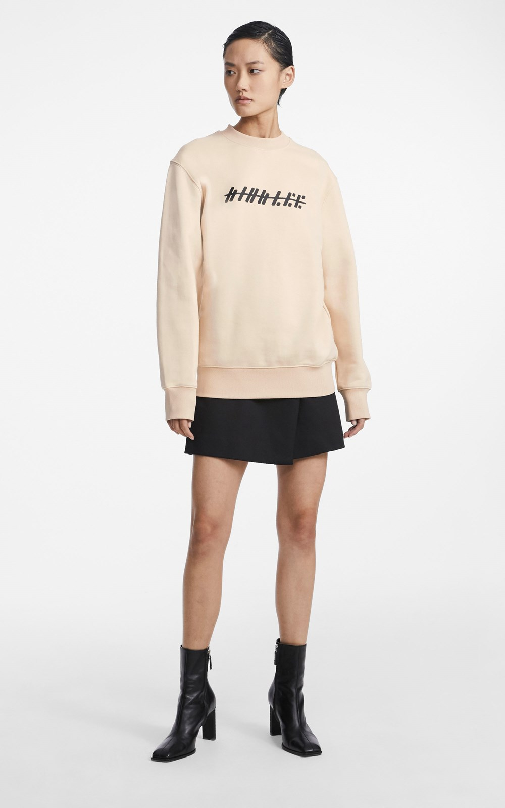 Tops | PRINTED LOGO PULLOVER